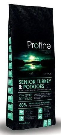 Profine Senior Turkey & Potatoes Hindili Ve Patatesli Yaşli Köpek Mamasi 3 Kg.